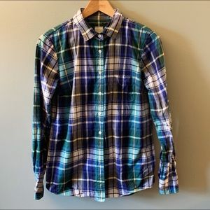 J. Crew collared button-down like new - size 4